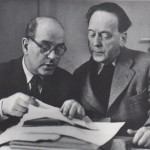 Herzfelde and Heartfield in 1952