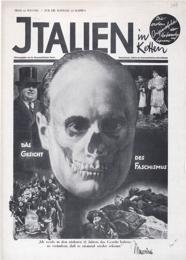 The Face Of Fascism 1928