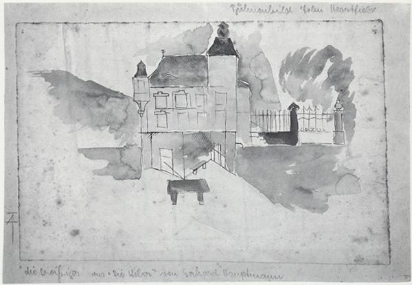 Heartfield German Theater Stage Set Die Weber 1921