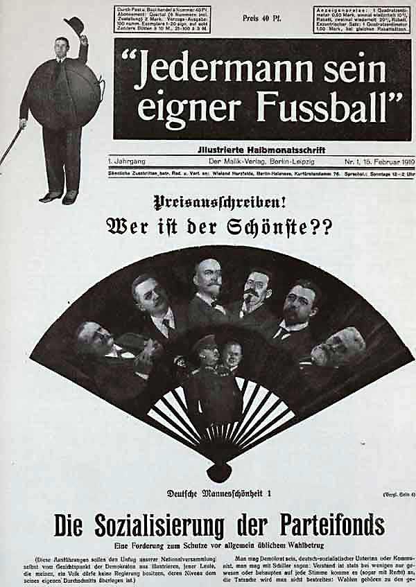 Everyone His Own Football, February, 1919