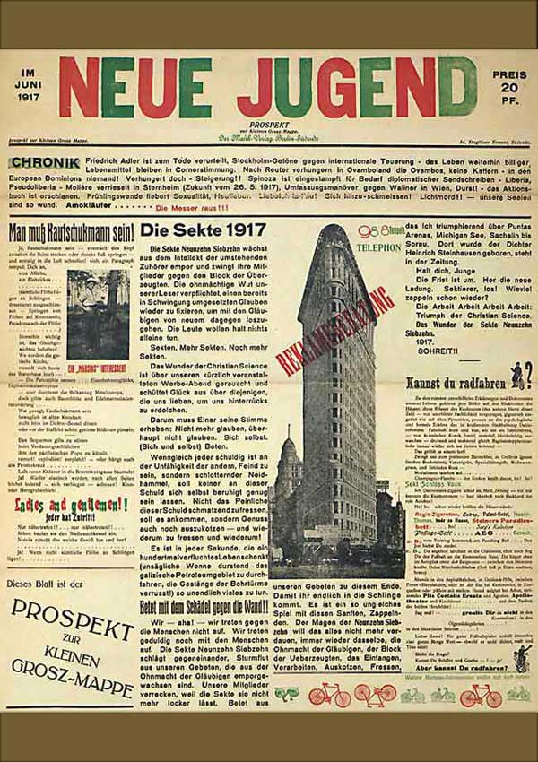 Neue Jugend, June 1917