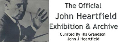 John Heartfield Exhibition and Archive political art graphic designhistory